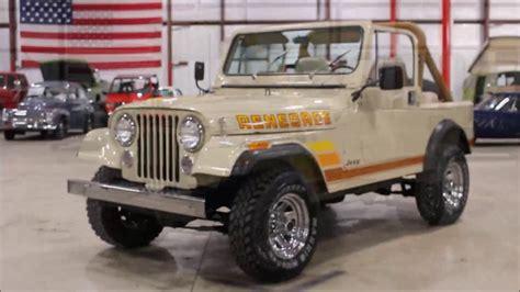 renegade jeep cj7 1985 jeep cj7 renegade youtube