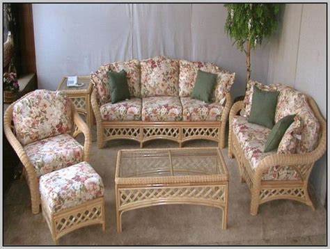 indoor wicker furniture replacement cushions chairs
