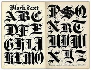 black letter letter types and texts on pinterest With old english metal letters