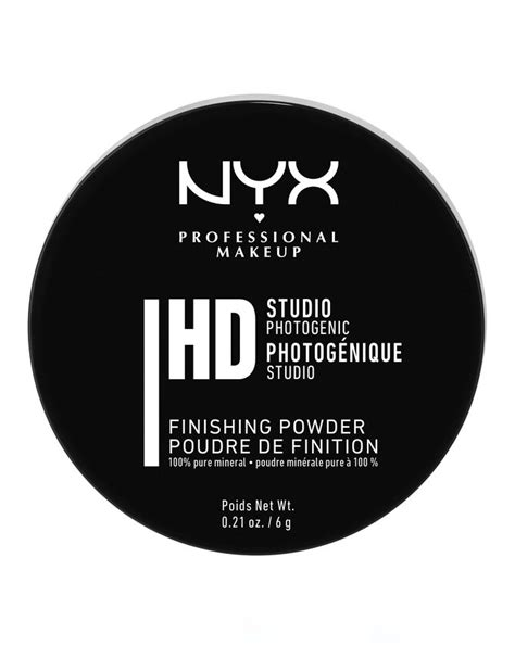Nyx Mineral Finishing Powder studio finishing powder translucent finish by nyx