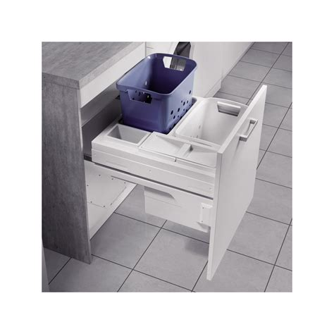 panier 224 linge coulissant pour meuble de 600 mm