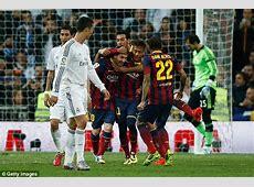 Suarez, Messi and Neymar versus Ronaldo, Bale and Falcao