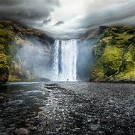 Skogafoss Waterfall Iceland Wallpaper