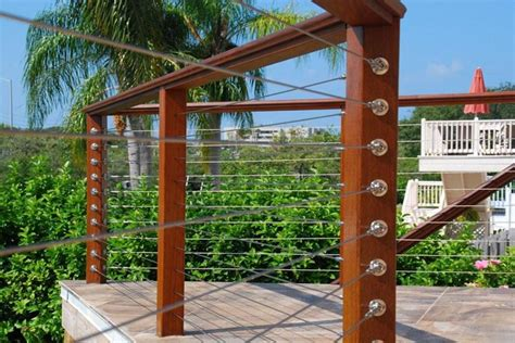 wire banister diy cable railing system stainless cable railing