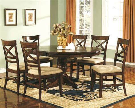 Winners Only Topaz Cherry Dining Room Set Wodtc24866s