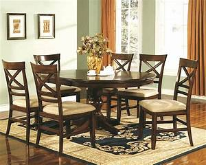 Coffee table cherry dining room sets traditional design for Dining table and coffee table set