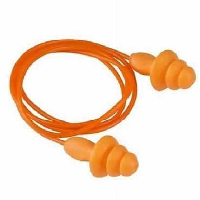 Ear Plugs Reusable Corded Earplugs Plug Orange