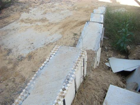 foam concrete forms for retaining walls arxx icf insulated concrete form foam moisture barrier
