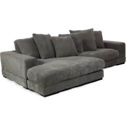 Gray Corduroy Sectional Sofa by Aurelle Home Charcoal Left Or Right Grey Sectional Sofa