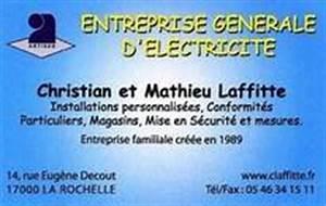 Electricien La Rochelle : electricit g n rale la rochelle christian laffitte ~ Melissatoandfro.com Idées de Décoration