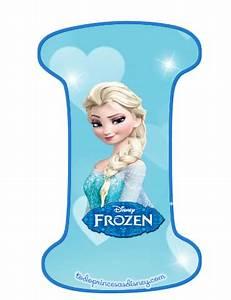 Letras de Frozen Abecedario para descargar gratis Tu sitio de Frozen