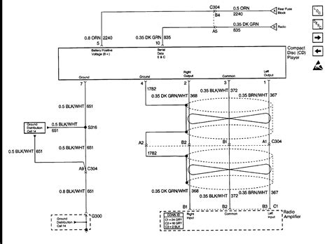1999 Cadillac Ignition Wiring Diagram by I Need For A 1999 Cadillac Sts Bose Radio Wiring Diagram