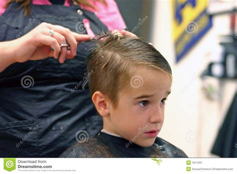 Boy Getting Haircut Stock Image. Image Of Comb, Haircut Short Blunt Bob Haircuts For Football Players Spiky Pixie Haircut How Much Are Sports Clips 45 Styles El Paso Women Thin Hair S Long