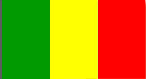 Clipart - Flag of Mali