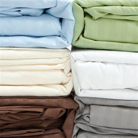 Cotton Bed Sheets by Deluxe 300 Thread Count 100 Cotton Bed Sheet Set