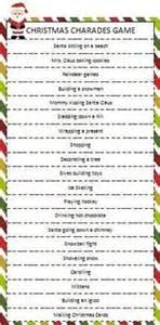 christmas charades game free printable christmas freepri christmas xmas ideas juxtapost