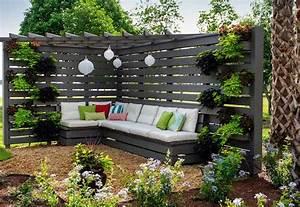 Salon De Jardin En Palette Moderne : 1001 id es pour cr er un beau salon de jardin en palette ~ Melissatoandfro.com Idées de Décoration