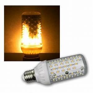E27 Led Leuchtmittel : led flamme leuchtmittel e27 4w 230v 465lm klar ~ Watch28wear.com Haus und Dekorationen