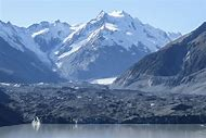 New Zealand Tasman Glacier Lake