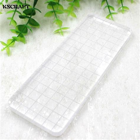 buy kscraft transparent silica gel stamp