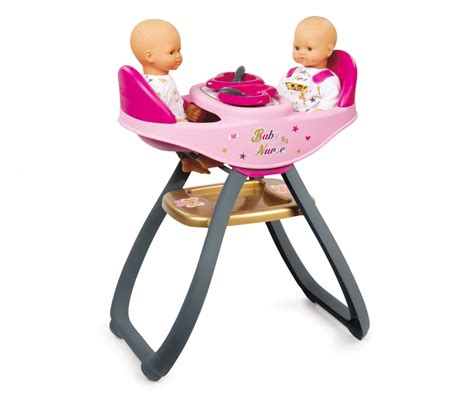 chaise haute jumeaux bn highchair baby doll accessories