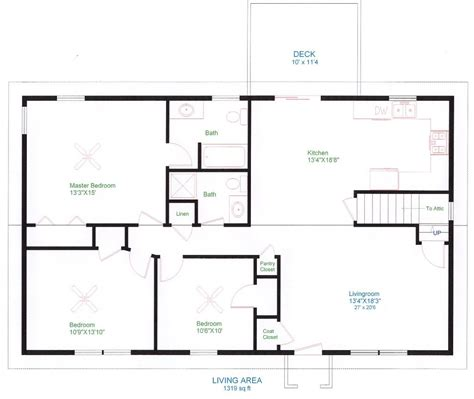 how to draw floor plans for a house architectural designs house plans floor plan inside