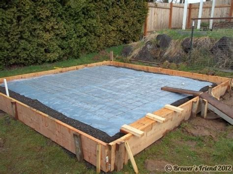 shed concrete slab thickness wooden bench plans free cost of shed slab pole barns