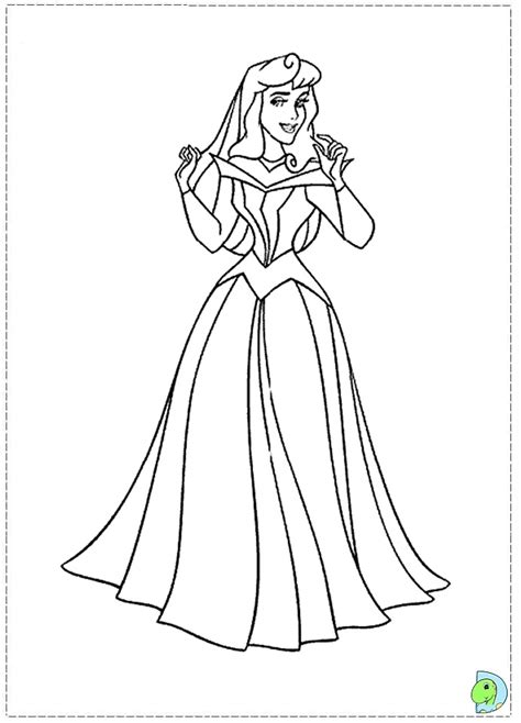 sleeping beauty coloring page aurora coloring page
