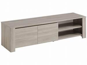 Meuble Tele Bas : meuble tv 151 3 cm warren silex vente de meuble tv conforama ~ Teatrodelosmanantiales.com Idées de Décoration