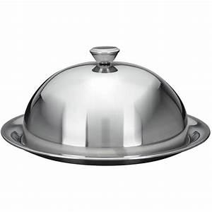Plat A Gateau Avec Cloche : cloche couvre assiette maitre d 39 hotel assiette inox 24 cm achat vente cloche de ~ Teatrodelosmanantiales.com Idées de Décoration