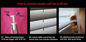 Videos How To Repair Plantation And Vinyl Shuttters