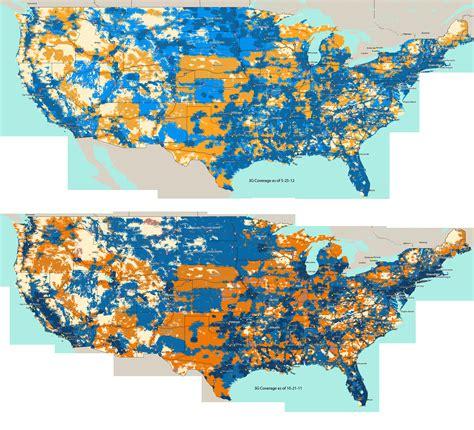 AT&T Hi-Res 3G Coverage Map (US Only) | SolSie.com