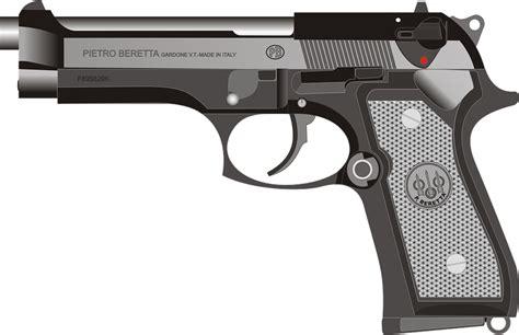 Pistol Images Beretta Pistol Gun 183 Free Vector Graphic On Pixabay
