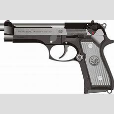 Beretta Pistol Gun · Free Vector Graphic On Pixabay