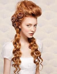 difficult hairstyle Steampunk hairstyles Victorian