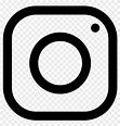 White Instagram Logo Png - Free Transparent PNG Clipart ...