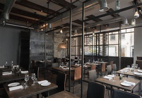 22 Inspirational Restaurant Interior Designs : Some Industrial Styled Inspiration
