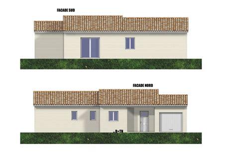 plan maison bois colombe perigord maisons bois