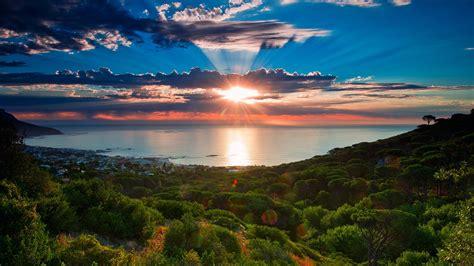 south africa sunset wallpaper hd full hd desktop