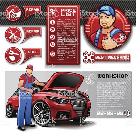 Car Repair Infographics Stock Vector Art & More Images Of
