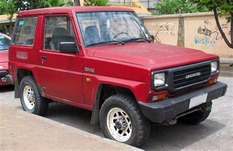 1992 Daihatsu Rocky by 1992 Daihatsu Rocky Sx Hardtop 2dr 4x4 Sport Utility 5 Spd