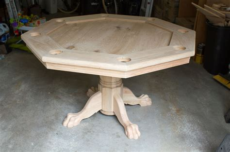octagon game table plans diy octagon poker table plans inkra