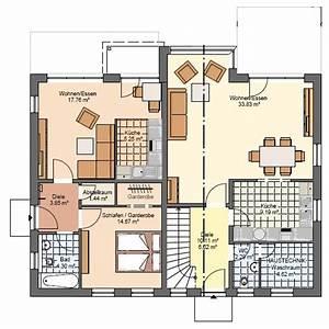 Haus Grundriss Ideen Einfamilienhaus : die besten 25 einfamilienhaus mit einliegerwohnung ideen ~ Lizthompson.info Haus und Dekorationen