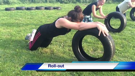 Top 36 Great Car Tire Bootcamp Exercises. Total Body