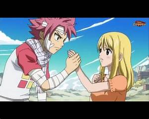 Natsu and Lucy by MelikeCan on DeviantArt