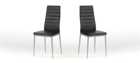 chaise salle a manger noir chaise de cuisine lena à prix imbattable
