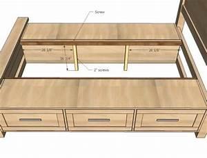diy queen size platform bed with storage Quick