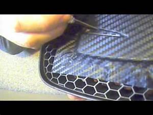 Covering Carbone 3m : covering seat badge in 3m di noc carbon fibre vinyl youtube ~ Voncanada.com Idées de Décoration