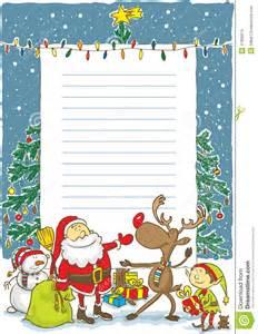 christmas wish list maker santa with wishlist illustration stock vector image