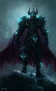My favorite class artwork (Death Knight). Post some of ...